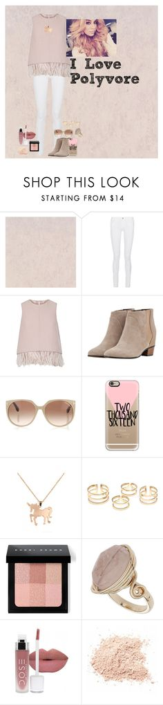 """""""Untitled #244"""" by katiecutie31 on Polyvore featuring Frame Denim, The 2nd Skin Co., Golden Goose, Tom Ford, Casetify, Louche, Bobbi Brown Cosmetics, Topshop, Hansen and women's clothing"""