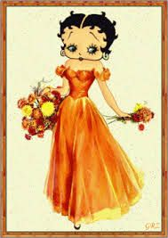 Betty Boop loving Autumn strolls!
