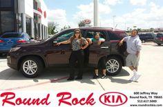 Congratulations to Maria & Betty Guzman on your #Kia #Sorento purchase from Kelly  Cameron at Round Rock Kia! #RollingInStyle
