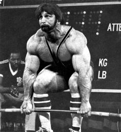 Classic powerlifting, Roger Estep deadlift.