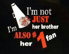 Cheer brother shirt by LesliesBlingShop on Etsy