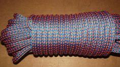 "NEW 7/16"" (11.1mm) x 93' 24-Strand Arborist Climbing Rope Double Braid"