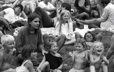 Kids in Woodstock 1969
