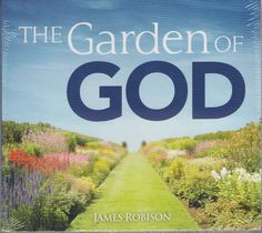 The Garden Of God by James Robison 1 CD & 1 DVD Set, 2010, New Sealed
