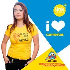 Camiseta - Línguas : Camiseta - Línguas  http://www.camisetasdahora.com/p-24-255-…/Camiseta---Linguas | camisetasdahora
