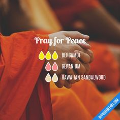 Pray for Peace - Essential Oil Diffuser Blend