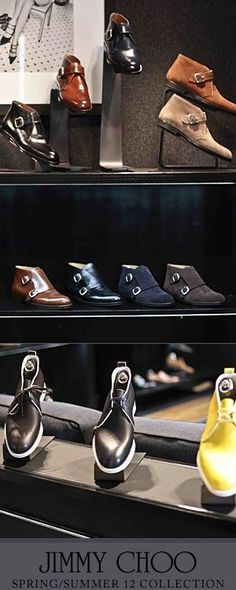 Jimmy Choo - Men's Spring, Summer collection   The House of Beccaria
