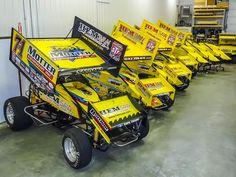 Dream garage but full of super sedans! Dirt Car Racing, Flat Track Racing, Sprint Car Racing, Race Cars, Auto Racing, Outlaw Racing, Late Model Racing, Speedway Racing, Weird Cars