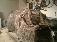Cheap Duck Blind for your boat... Pics added 08/19 - Texas Waterfowler Forums