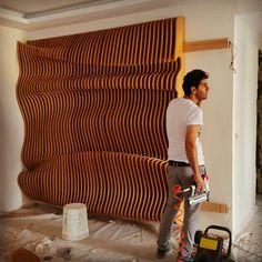 Niyavaran project Tehran Product and desigen by ali tahmasvand 00989195668818 #parametric #walldecor #wooden