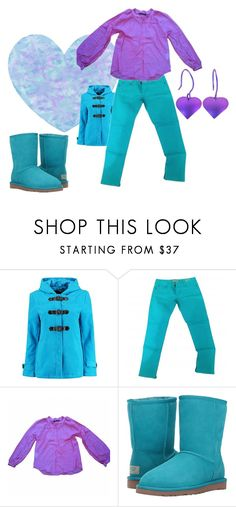 """""""Untitled #1387"""" by vronvron ❤ liked on Polyvore featuring Boohoo, GUESS, Comptoir Des Cotonniers and UGG"""