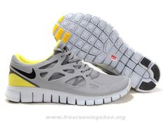 Shield Yellow Grey Womens 472519-007 Nike Free Run 2 2014 Free S