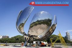 Buenos Aires recovers an emblematic monument The Floralis Generica opens and closes with sunlight The Generic Floralis is one of the main tourist attractions in Buenos Aires and it is more than 20 meters, it weighs 24 tons and opens and closes with sunlight. Read more in link... Check your #Travel #Tours #Packages #Vacations at  #BuenosAires  in  #Argentina . Different #destinations are waiting for You! 01 Argentina Travel Agency #TravelAgency