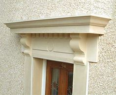 Projecting crosshead corbels underneath & Can a corbel be incorporated into this design? | Millwork ... Pezcame.Com