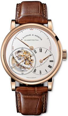 A. Lange & Sohne Richard Lange Tourbillon Pour le Merite Watch a lange sohne $193K - I have an Orient that looks a lot like this and only cost $180.00