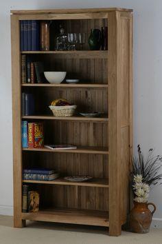 Oakdale Solid Oak Furniture Range Office & Living Room | Bookcase Oak Furniture Land www.oakfurnitureland.co.uk