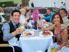 Eric Vetro & Teri Hatcher at Hollywood Bowl Opening Night honoring Reba McEntire & Chaka Khan