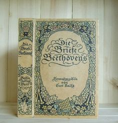 Beethoven's Letters Die Briefe Beethovens by CrookedHouseBooks