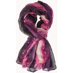 FOREVER 21 Daydreamer Tie-Dye Scarf ($8.80) ❤ liked on Polyvore featuring accessories, scarves, tie dye shawl, woven scarves, tie-dye scarves, forever 21 and lightweight scarves