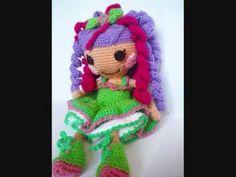 Pijama para nuestras muñecas a crochet Lilia (zurdos) - YouTube