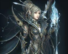 Beautiful Fantasy Elf Warrior Wallpaper