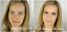 Full Makeup Routine with Maybelline Cosmetics
