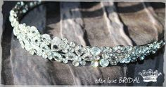 Crystal Bridal Headband Tiara  BEAUX Crystal von EdenLuxeBridal, $98.00