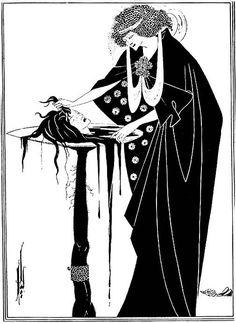 ビアズリー 「サロメ」 舞姫の褒美