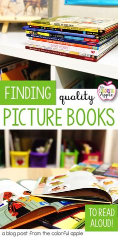 Reading picture books aloud to students of all ages is so important!  Finding books to read can be challenging though.  This post has a collection of places to find quality read aloud books.  Also includes a free list of the best books to read!  Great information for read alouds for kindergarten all the way up to read alouds for upper elementary.