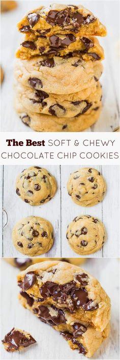 Τα καλύτερα soft μπισκότα με Σοκολάτα Είναι  μαλακά, υγρά, κρεμώδες, και αρκετά χοντρά , για να βυθίζονται τα δόντια  σας . Το μυσ...