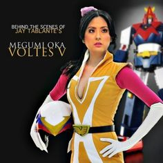 Jinri Park as Jamie Robinson of Voltes 5 My Childhood, Captain America, Ronald Mcdonald, Behind The Scenes, Disney Characters, Fictional Characters, Cosplay, Superhero, Park
