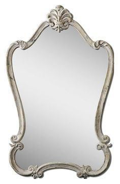 Uttermost 'Walton Hall' Antique White Vanity Mirror available at #Nordstrom