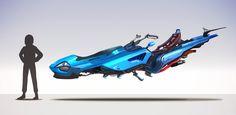 Hovercraft Vehicles, Miroslav Petrov on ArtStation at https://www.artstation.com/artwork/BaRnr