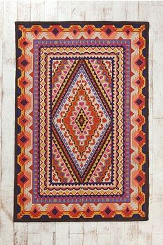 Magical Thinking Mirrored Medallion Handmade Rug - Urban Outfitters