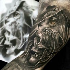 Wonderful piece by Mumia - Tattoo Artist from Denmark.