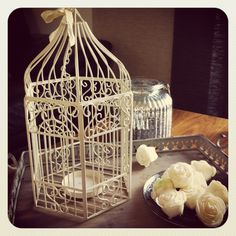 wedding birdcage hire