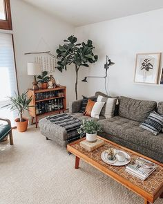 Likes, 81 Comments - Carrie Waller Home Living Room, Apartment Living, Living Room Designs, Living Room Decor, Budget Home Decorating, Living Room Inspiration, Decoration, Furniture Shopping, Furniture Online