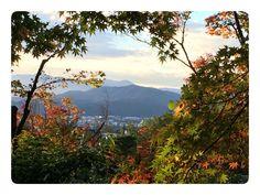 View from atop Ginkakuji, Kyoto