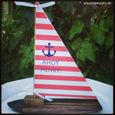 Whatever Floats your Boat! Sailboat Centerpieces