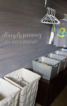 Organizing My Laundry Room