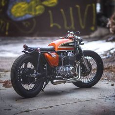 Image result for 1970 honda cb450 cafe racer