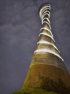 Bicentennial Torch in Guanajuato, México by José Pareja and Jesús Hernández
