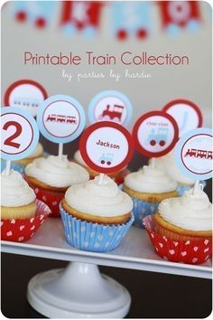 Printables for train party
