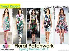Floral Prints LFW 2014 Trends