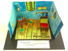 "R o r r y: My Little Gallery: Vincent Van Gogh ""The Bedroom at Arles, 1889"""