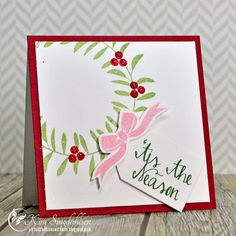 Tis the Season from Joyful Creations with Kim. Stamps by Avery Elle.