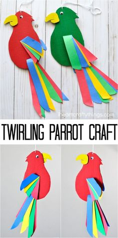 13 Best Jungle Crafts For Kids Images