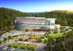 Mercury National Sports Center in korea