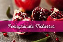 #Pomegranate #Molasses is an essential ingredient in Lebanese and Mediterranean cuisine and Al Wadi Al Akhdar offers an All Natural Pomegranate Molasses that is unique on the market for containing only 100% pure pomegranate juice. Its sweet and sour flavor makes it a perfect replacement for lemon juice or an impeccable addition to many meals. This distinctive ingredient is used in marinades, glazes, dressings, sauces and savory dishes in addition to desserts. Pomegranate Molasses, Pomegranate Juice, Savoury Dishes, Raspberry, Lemon, Meals, Pure Products, Fruit, 100 Pure
