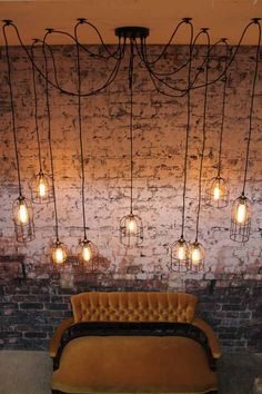 Cage Industrial Pendant Light